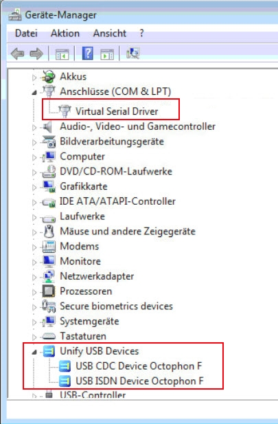 Siemens Callbridge device manager